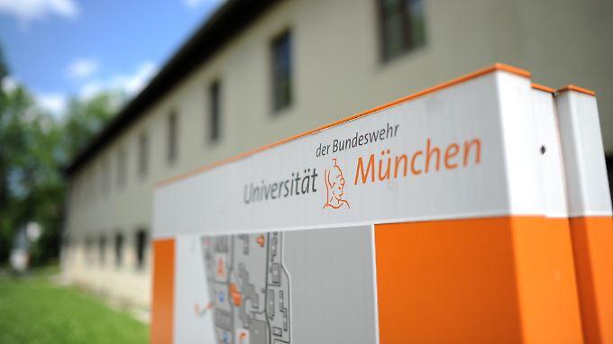 Die Universität der Bundeswehr in Neubiberg bei München - gibt es hier ein Netzwerk von rechtsextremen Studenten?