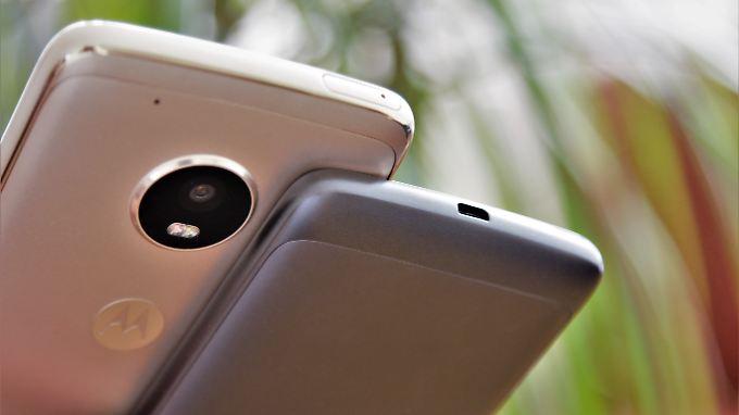 Auch Mittelklasse-Smartphones haben inzwischen einiges drauf.