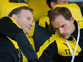 Zerstritten: BVB-Boss Watzke und Coach Tuchel.