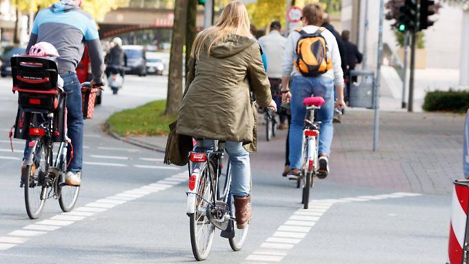 Münster behält im Ranking der großen fahrradfreundlichen Städte die Spitzenposition.