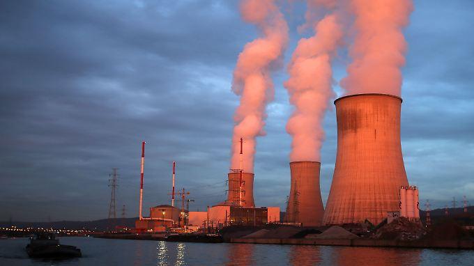 Engie betreibt unter anderem auch Kernkraftwerke, wie hier über die Tochter Electrabel in Huy, Belgien.