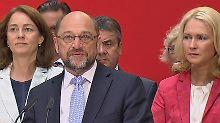 """""""Deutschlandtrend""""-Umfrage: Für die SPD und Schulz geht es weiter abwärts"""
