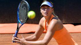 Zu den French Open wollte Maria Scharapowa eingeladen werden - und wurde ausgeladen. Das bleibt ihr in Wimbledon auf jeden Fall erspart.