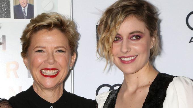 """Auf jeden Fall """"Jahrhundertfrauen"""": Greta Gerwig (r) und Annette Bening."""
