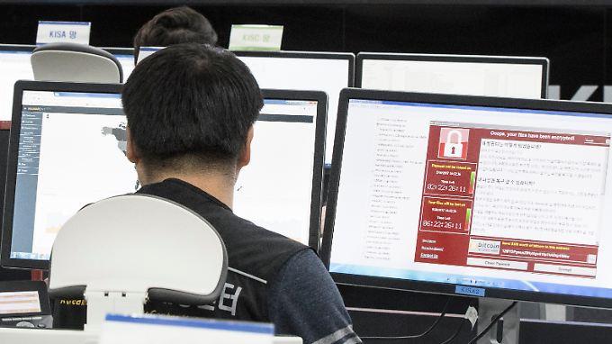 Organisationen und Privatnutzer aus mindestens 150 Ländern waren von der Cyber-Attacke betroffen.