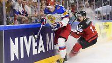 """Finale der Eishockey-WM erreicht: """"Team Canada"""" fegt Russland furios vom Eis"""