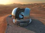 Der Hauptspiegel des ELT wird fünf Mal größer sein als bei den heute stärksten Teleskopen.