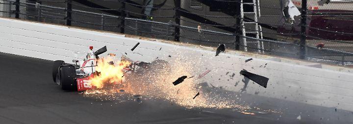 Nachdem Bourdais den Saisonauftakt in St. Petersburg und im US-Bundesstaat Florida gewonnen hatte, galt er als Siegfavorit bei den Indy 500.