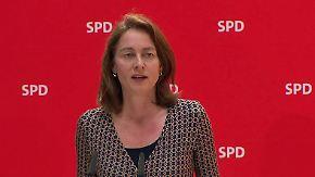 """""""Es geht um mehr Gerechtigkeit"""": SPD stellt Kernpunkte des Wahlprogramms vor"""
