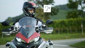 Motorradfahrer könnten die Hinweise über akustische Signale bekommen.