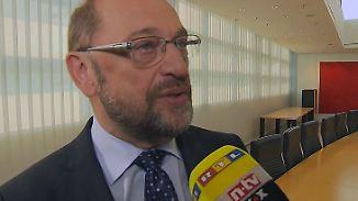 """Martin Schulz im n-tv Interview: """"Hochglanzbilder können sich andere beschaffen"""""""