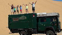 """Extremreise mit vier Kindern: """"Grüdi"""" bringt die Vossebergs durch Afrika"""