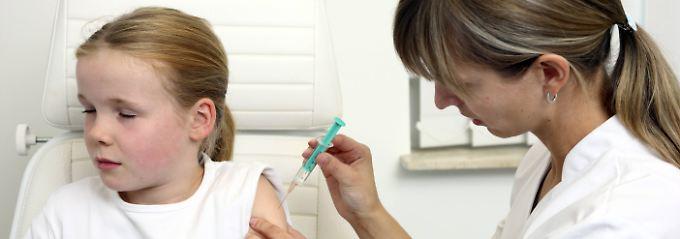 Gegen den WIllen der Mutter: Ex-Freund darf Tochter impfen lassen