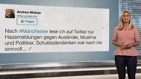 n-tv Netzreporterin: Menschen stellen sich dem Hass nach Manchester-Attentat entgegen