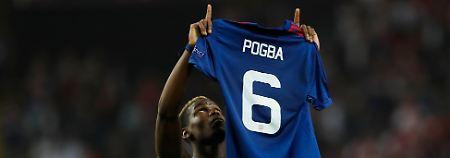 Widmete sein Tor den Getöteten: Paul Pogba