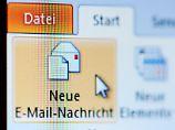 Wer eine Mail schreibt, sollte sich kurzfassen und schnell auf den Punkt kommen.