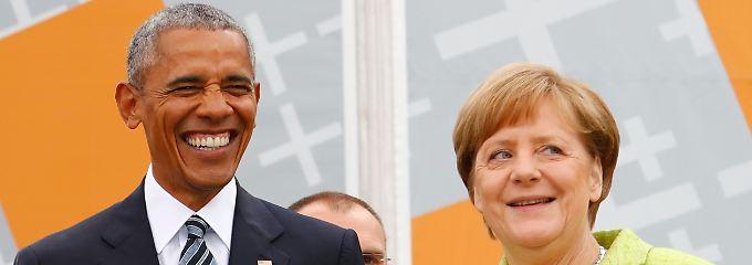 Merkel und Obama beim Kirchentag: Hoffnungsvoll geht nur ohne Trump