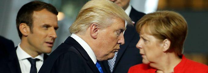 Nato umgarnt US-Präsidenten: Trump bleibt hart