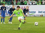 Wolfsburg legt in Relegation vor: Gomez ernüchtert Eintracht Braunschweig