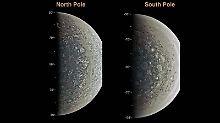 Hunderte Kilometer Durchmesser: Auf Jupiter toben mächtige Wirbelstürme