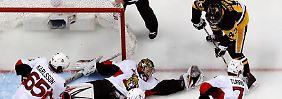 Meister erneut im NHL-Finale: Pittsburgh übersteht Eishockey-Thriller