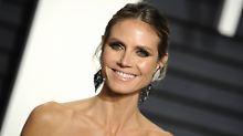 """""""Wieso nicht?"""": Heidi Klum posiert nackt"""