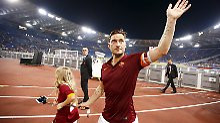 Rom-Legende vor Karriereende: Totti zelebriert die letzte Fußballshow