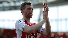 Per Mertesacker soll Arsenals Defensive im Pokalfinale gegen Meister FC Chelsea stabilisieren.