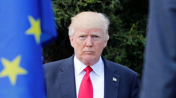 Donald Trump: kam später als alle anderen - und blockierte.