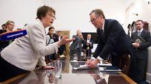 Brigitte Zypries traf erst kürzlich den US-Handelsbeauftragten Robert Lighthizer.