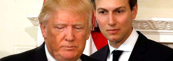 Schwiegersohn im Fokus des FBI: Russland-Affäre holt Trump nach Rückkehr mit voller Wucht ein