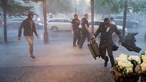 Ausnahmezustand in Berlin: Heftige Unwetter ziehen über weite Teile Deutschlands hinweg