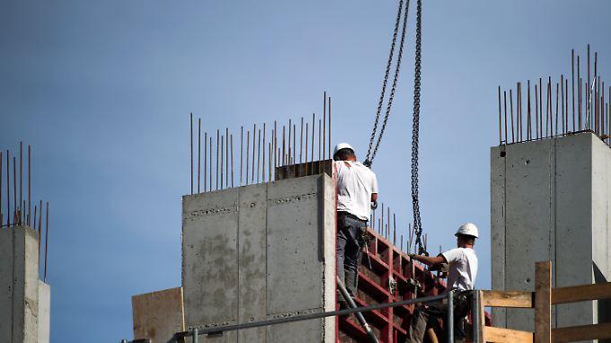 Kräftiges Beschäftigungswachstum.