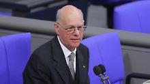 """""""Formal grenzwertig"""": Lammert kritisiert Bund-Länder-Finanzreform"""