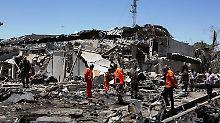 Blutiger Anschlag mit 80 Toten: Kabul wird zur Stadt der Angst