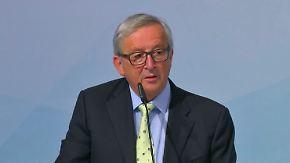 """Juncker warnt: """"Gesetz ist Gesetz"""": Trump kündigt Entscheidung über US-Ausstieg aus Klimaabkommen an"""