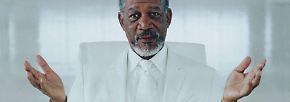 """Arbeit und Frau """"beleben"""": Morgan Freeman, der coole Alte"""