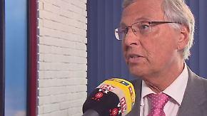 """Wolfgang Bosbach im n-tv Interview: """"Werden weiter im Fadenkreuz des Terrors sein"""""""
