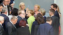 Kinderehen, Einheitsdenkmal, …: Längste Bundestagssitzung endet um 2 Uhr