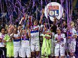Deutsche feiern mit Französinnen: Lyon verteidigt Champions League-Titel