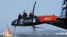 """Mount Everest des Segelns"": America's Cup verleiht Katamaranen Flügel"