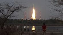 Indiens Premierminister Narendra Modi gratulierte der Weltraumbehörde: Die Nation ist stolz.