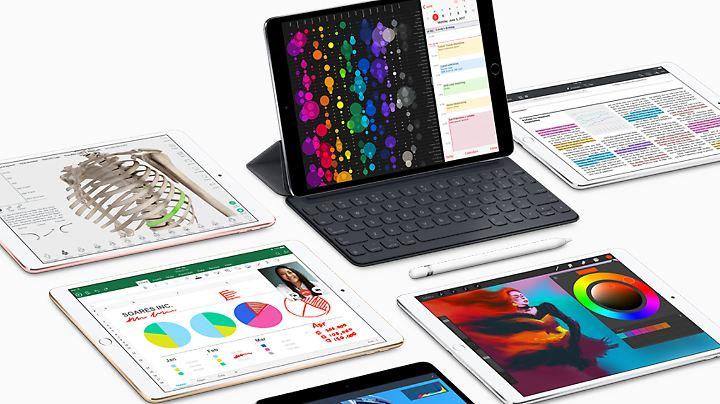 Das neue iPad Pro hat ein 10,5 Zoll großes Display.