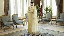 Hamad Al-Thani ist bei seinen Nachbarn in Ungnade gefallen.