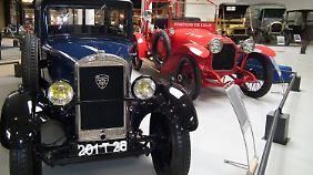 Ein beredtes Zeichen für das Alter der Marke Peugeot sind die Oldtimer.
