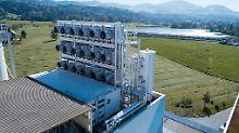 CO2 direkt ins Gewächshaus: Luftsauger soll Erderwärmung aufhalten