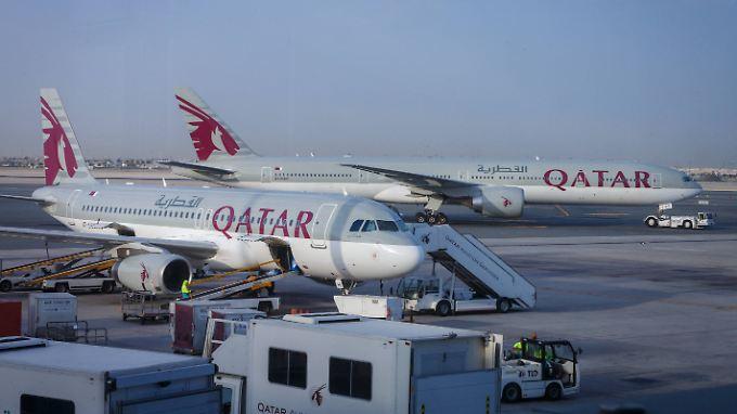 Unter massivem Druck: Qatar Airways.