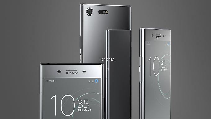 Das Sony Xperia XZ Premium ist eine kantige Schönheit.
