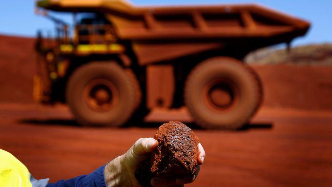 Australiens Schatz: Vor allem der Export von Erz und Kohle sowie Agrarproduktien nach China halten Australiens Wirtschaft seit zweieinhalb Jahrzehnten auf Wachstumskurs.