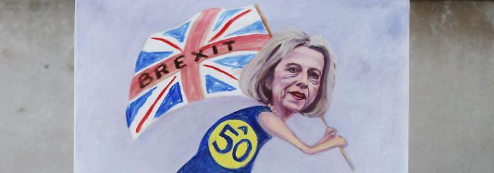 """""""Es gibt erste Bremsspuren"""": Mays """"harter"""" Brexit verunsichert die Wirtschaft"""